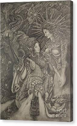 Constelacion Canvas Print by Ignacio Bernacer Alpera