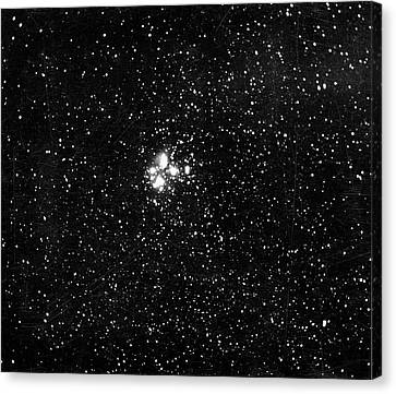 Constellation Of Pleiades Canvas Print by Universal History Archive/uig