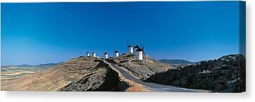 Consuegra La Mancha Spain Canvas Print by Panoramic Images