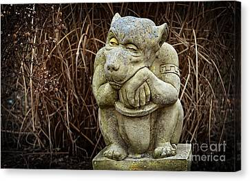 Contemplating Autumn Canvas Print
