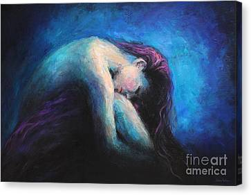 Contemplation Canvas Print by Svetlana Novikova