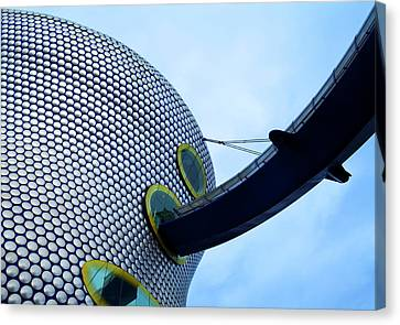 Contemporary Facade Selfridges Canvas Print by Panoramic Images