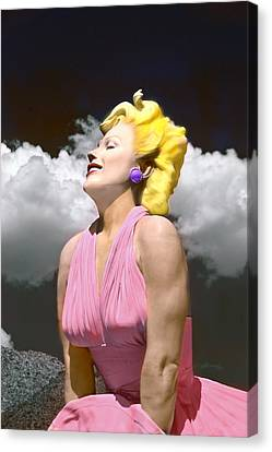Contemporary Marilyn Canvas Print by Matthew Bamberg