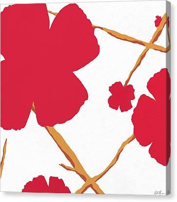Contemporary Poppy Canvas Print
