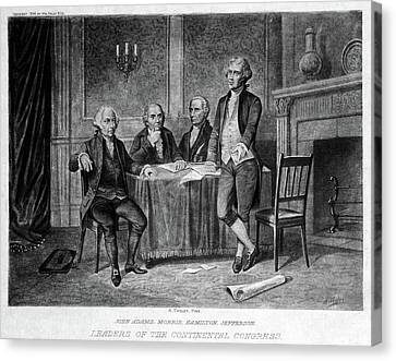 Continental Congress, 1775 Canvas Print by Granger