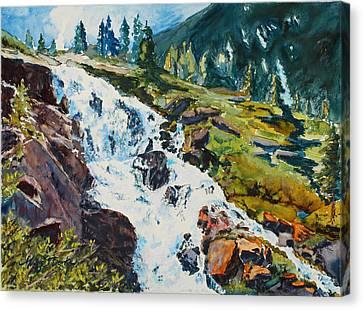 Continental Falls Canvas Print