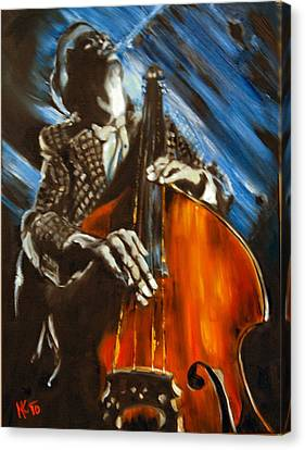 Contra-bass Canvas Print