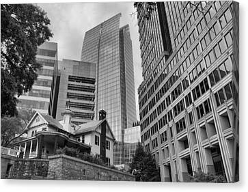 Contrasting Southern Architecture Canvas Print