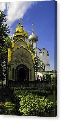 Convent - Moscow - Russia Canvas Print by Madeline Ellis
