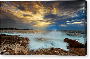 Convergence Canvas Print by Mark Lucey