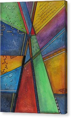 Convergence Canvas Print by Nicole Nadeau