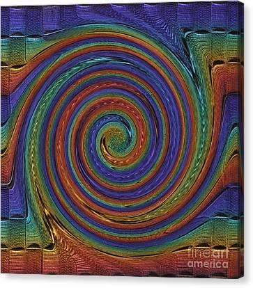 Converging Multi Canvas Print