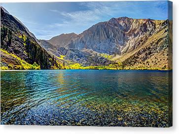 Convict Lake Fall Color Canvas Print