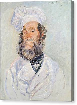Cook Canvas Print by Claude Monet