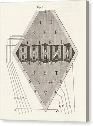 Cooke And Wheatstone Telegraph Canvas Print