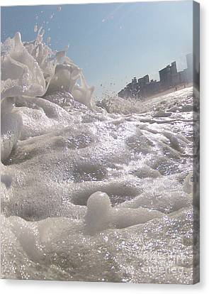 Cool Foam Canvas Print by Chad and Stacey Hall