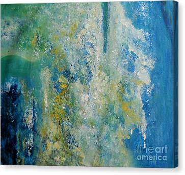 Cool Harmony Canvas Print by Sanjay Punekar