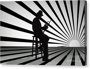 Cool Jazz 2 Canvas Print
