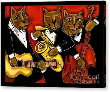 Cool Jazz Cats Canvas Print