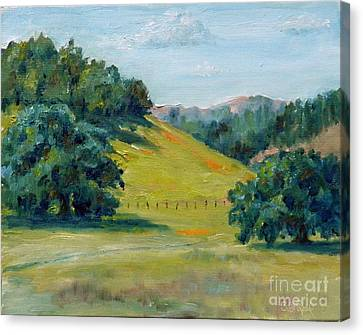 Cool Meadow Canvas Print