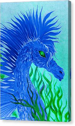 Cool Sea Horse Canvas Print