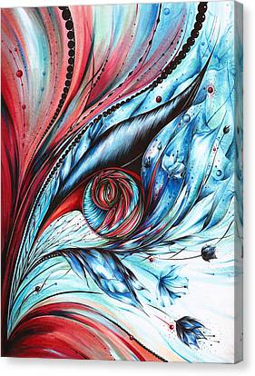 Cool Synergy Canvas Print by Andrea Carroll