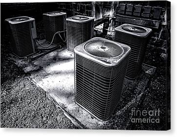 Unit Canvas Print - Cooling Power by Olivier Le Queinec