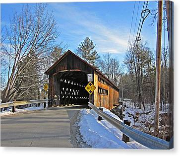 Coombs Covered Bridge Canvas Print