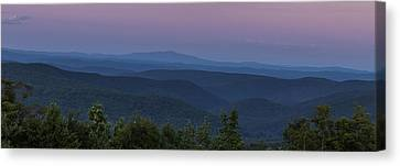 Cooper Hill Dusk II Canvas Print by Tom Singleton
