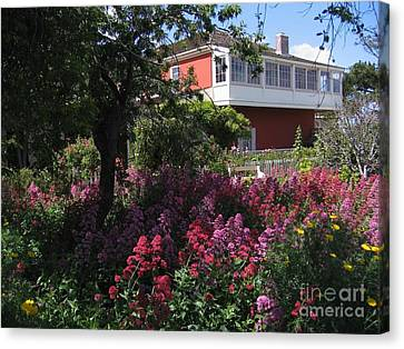 Cooper-molera Garden Canvas Print by James B Toy