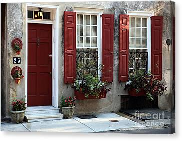 Coordinated In Charleston Canvas Print by John Rizzuto