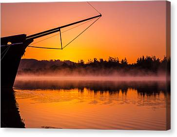 Coos Canvas Print - Coos Bay Sunrise II by Robert Bynum