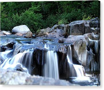 Coos Canyon Maine Canvas Print by Donnie Freeman