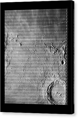 Copernicus Lunar Crater Canvas Print