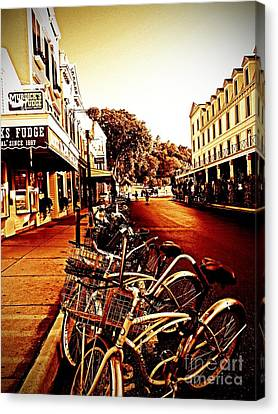 Copper And Rust Canvas Print by Desiree Paquette