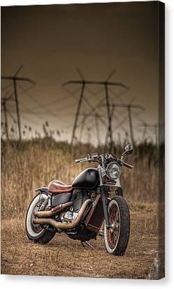 Copper Chopper Canvas Print