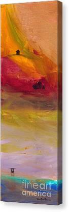 Copper Mist Canvas Print by Robin Maria Pedrero