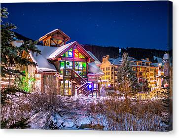 Copper Mountain Pub Canvas Print