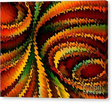 Copper Patina Canvas Print by David K Small
