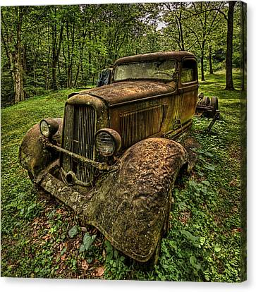 Canvas Print featuring the photograph Copper Truck by Wendell Thompson