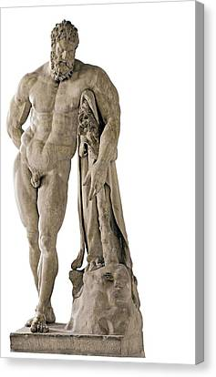 Copy From Lisippo, The Farnese Hercules Canvas Print