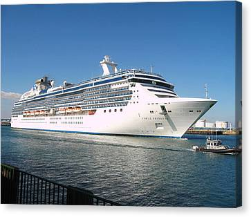 Coral Princess Canvas Print by Shoal Hollingsworth