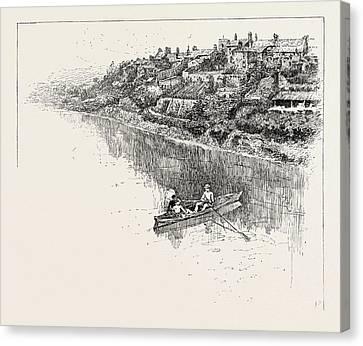 Corbridge, Corbridge Is A Village In Northumberland Canvas Print by English School