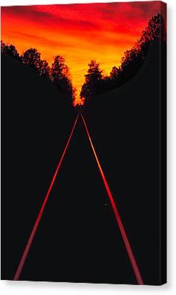Canvas Print - Cordesville Trestle by Donnie Smith