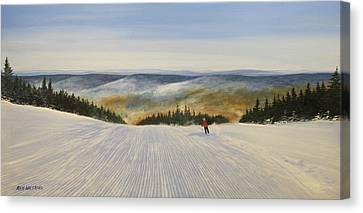 Cordoroy Canvas Print by Ken Ahlering