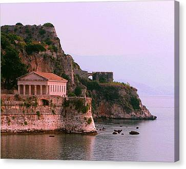 Corfu Pavillion Canvas Print