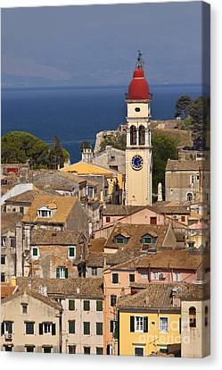 Corfu Town Greece Canvas Print by Brian Jannsen