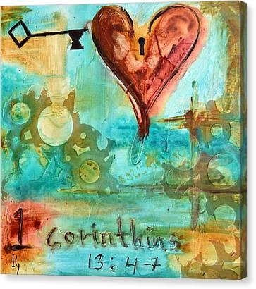 1 Corinthians 13 Canvas Print by Ivan Guaderrama