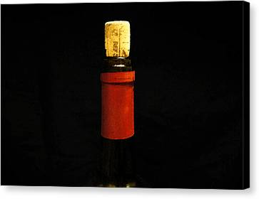 Corked Canvas Print by Laurie Perry