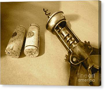 Corkscrew Duet Canvas Print